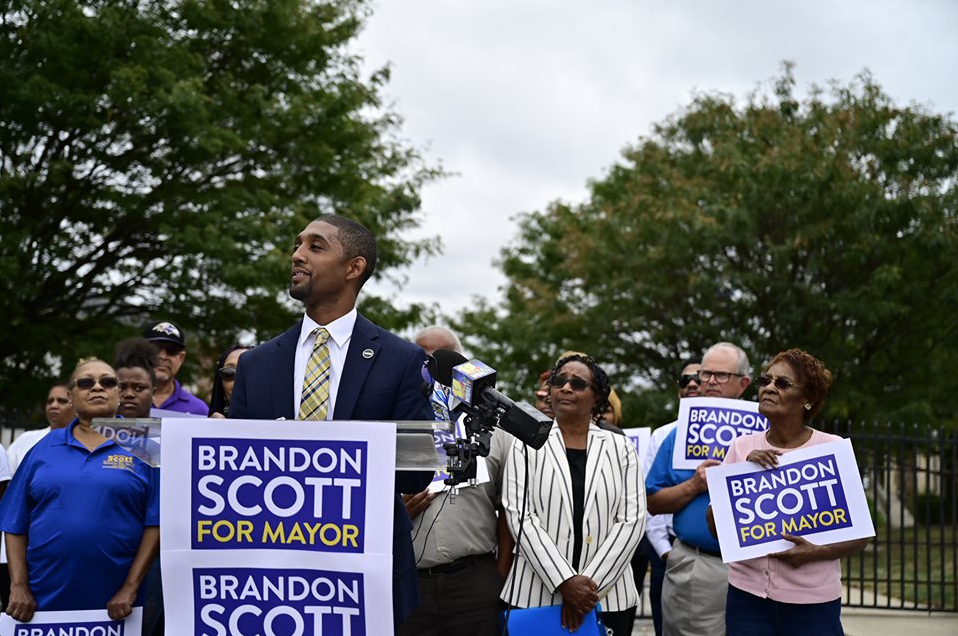 City Council President Brandon Scott Announces Mayoral Bid