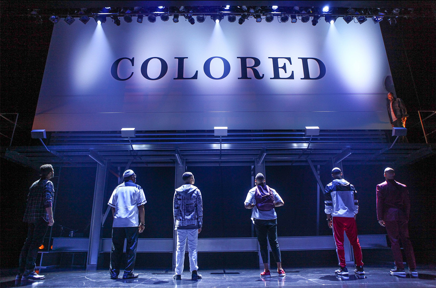 Center Stage's 'Thoughts of a Colored Man' Explores Nuances of Black Masculine Identity