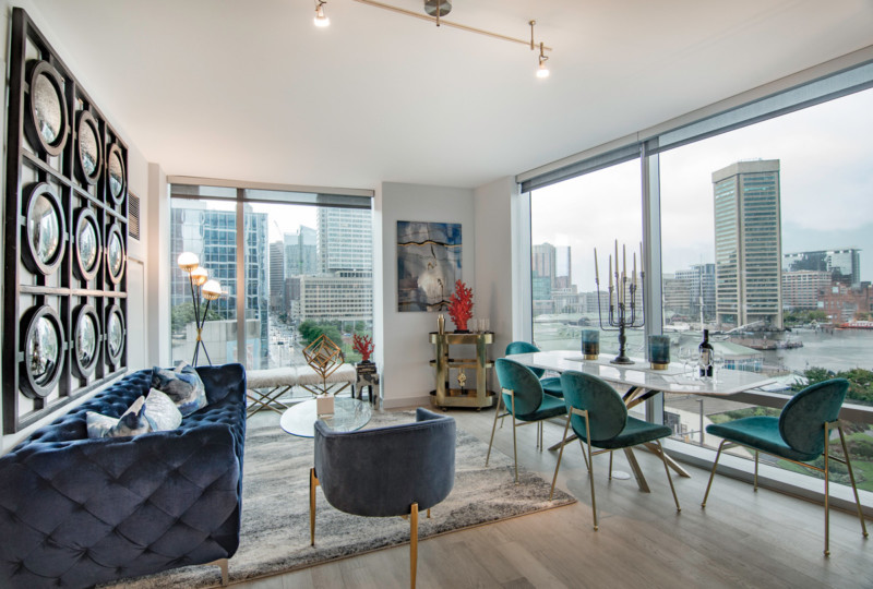 take a look inside the new 414 light street luxury apartments