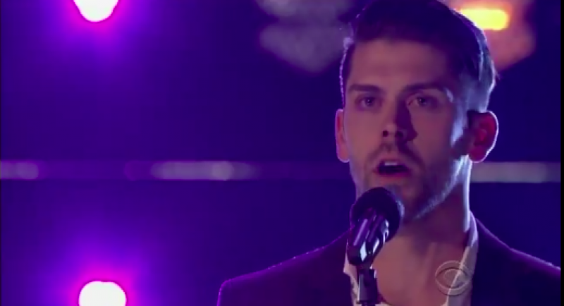 2f9b4d5ab Watch Justin Tucker Blow Away Competition in CBS Talent Show