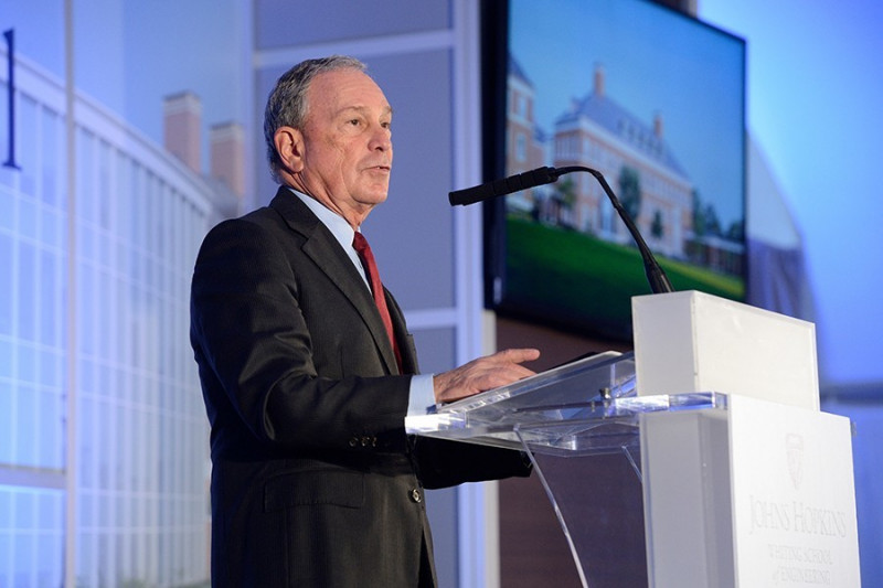 Bloomberg Makes Historic $1 8 Billion Gift to Johns Hopkins